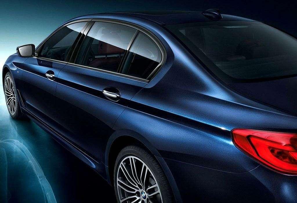 Удлиненный BMW 5-й серии: китайский эксклюзив— фото 733017