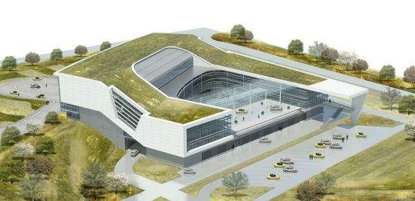 _no_copyright_Porsche Headquarters