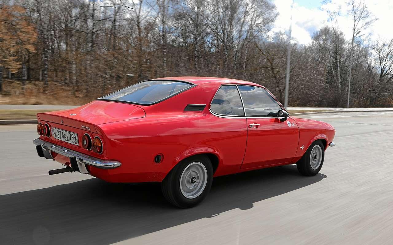 Opel Manta: такой могла быть наша «шестерка»— фото 1244231