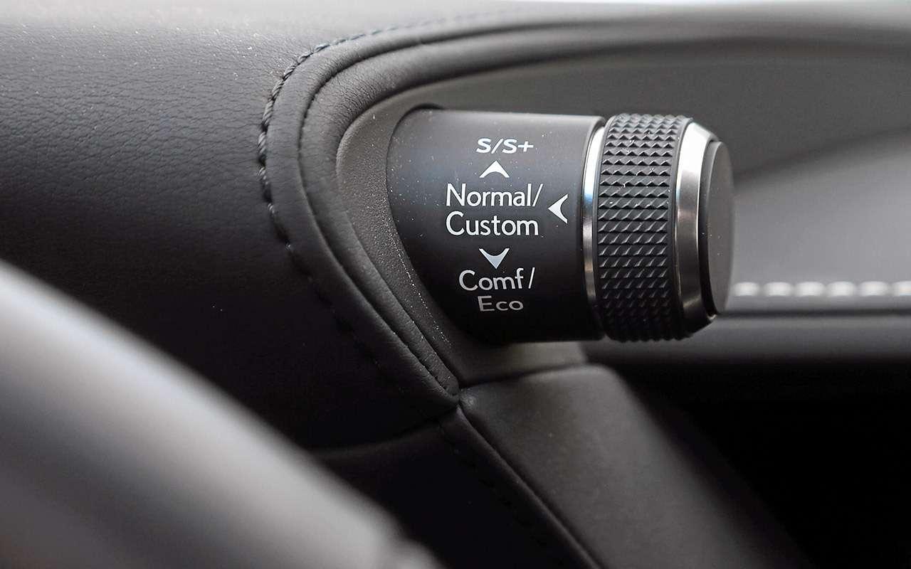 Большой тест престижных седанов: новый Lexus LS500и конкуренты— фото 928762