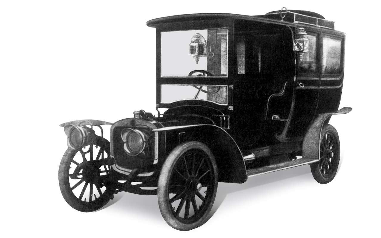 Первый серийный российский автомобиль: история Руссо-Балта— фото 1125236