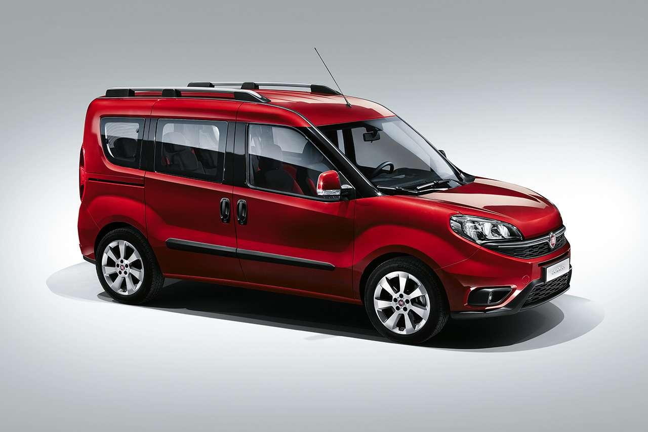 Fiat презентовал новое поколение Doblo— фото 363770