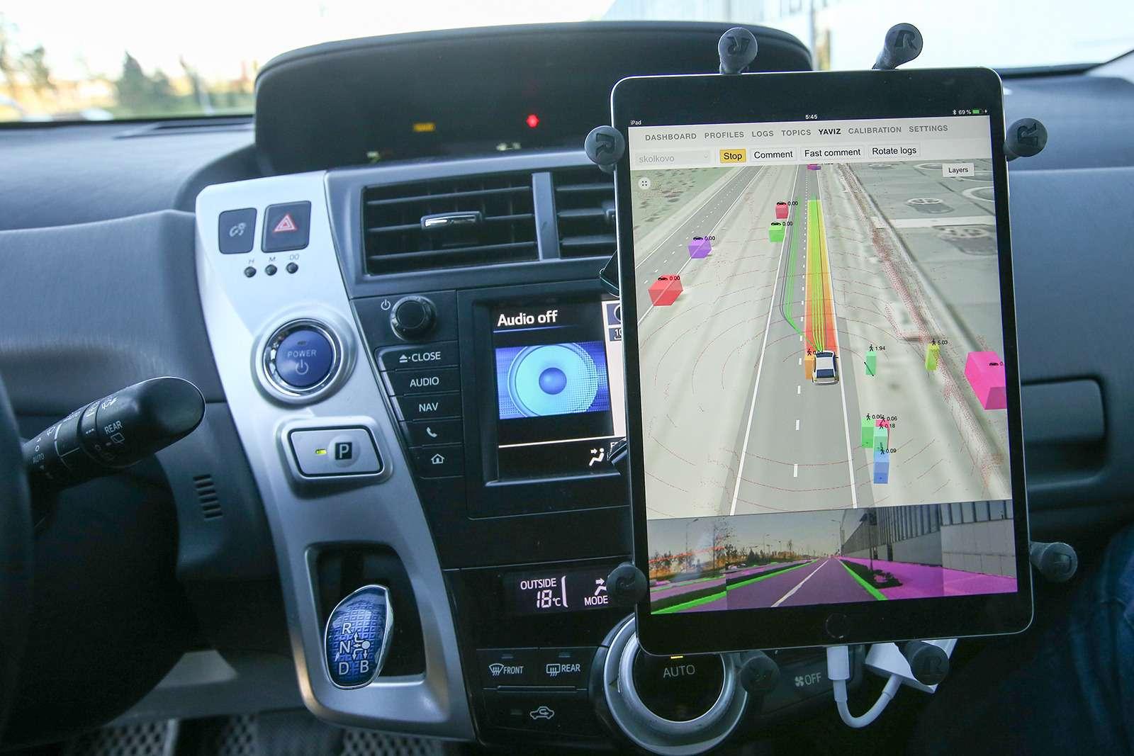 Yandex запустил беспилотное такси. Первый пассажир— Дмитрий Медведев— фото 914930
