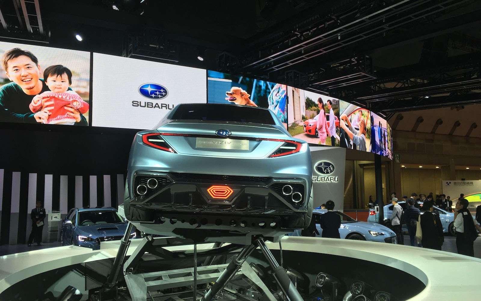 Subaru сохранит легенду: первые подробности обудущем WRX— фото 827652
