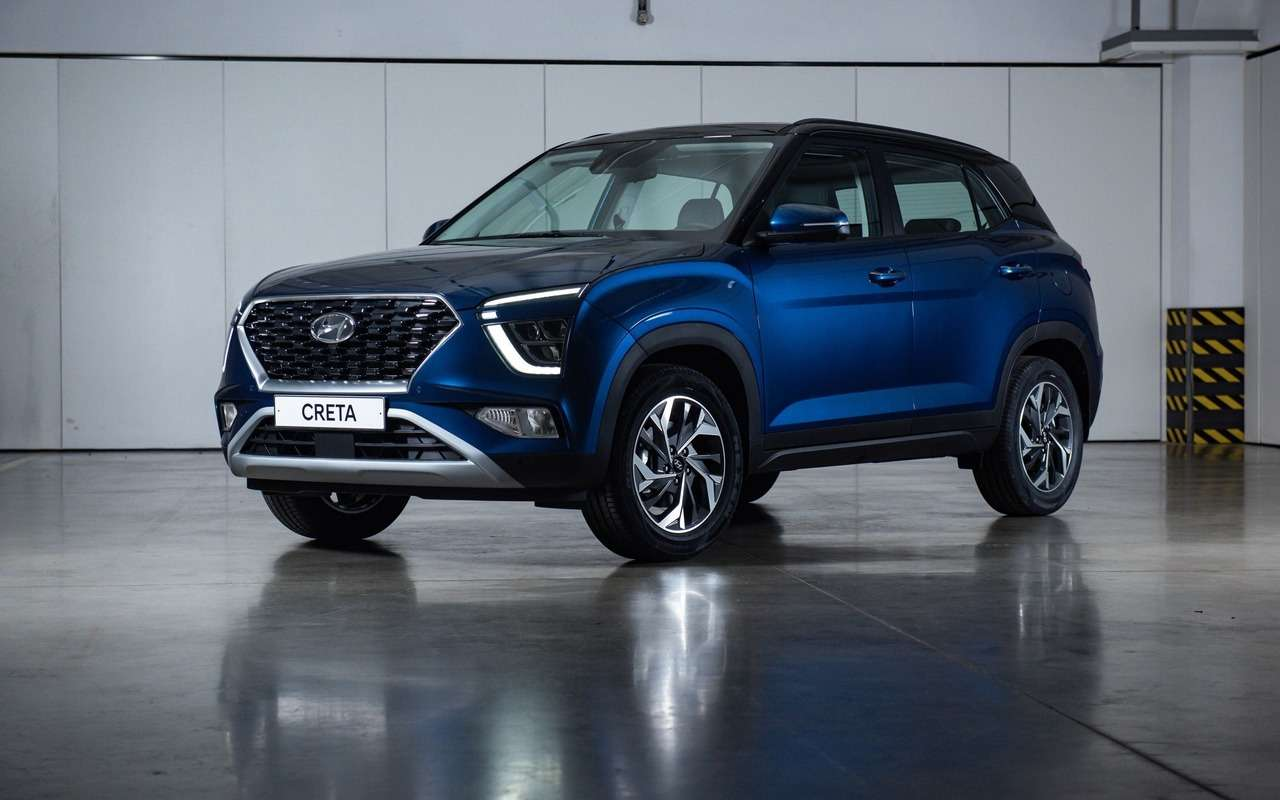 Новая Hyundai Creta уже удилеров— фото 1265132