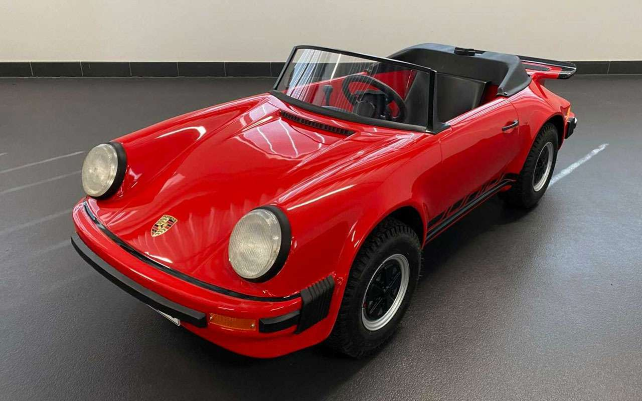 Мини-Porsche— за1,3млн руб., носдвигателем Honda— фото 1230228