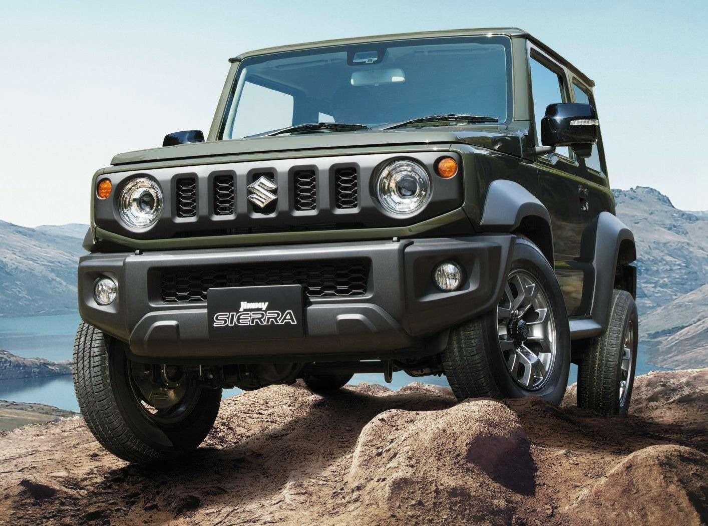 Новый Suzuki Jimny: объявлены технические характеристики— фото 884465