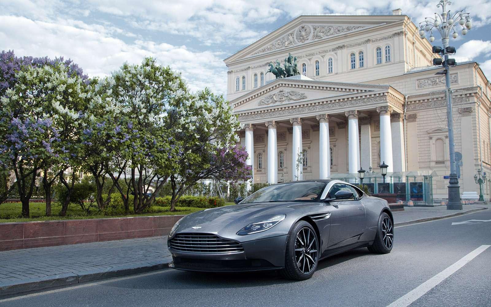 Новый Aston Martin DB11: эра роскоши— фото 657460