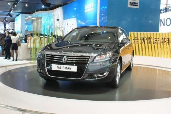Renault Talisman side-front view