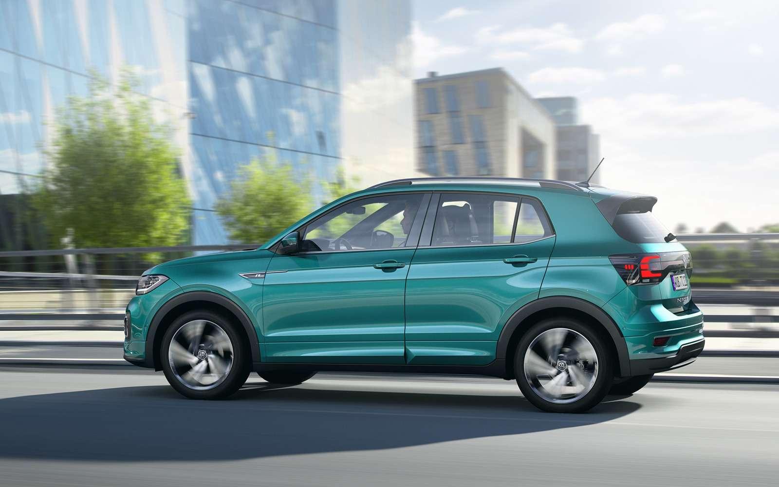Новый кроссовер Volkswagen: онпоявится вРоссии!— фото 918192
