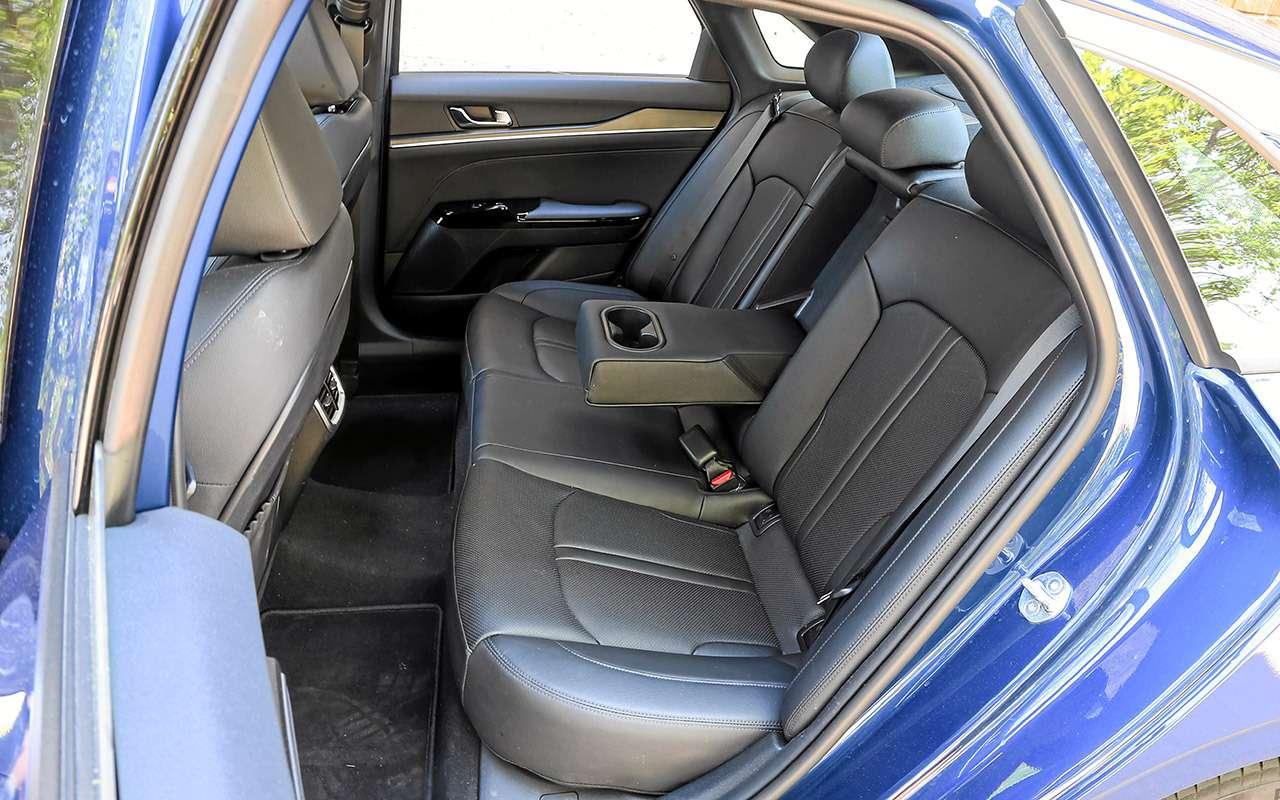 Toyota Camry, Kia K5, VWPassat— большой тест-сравнение— фото 1262483