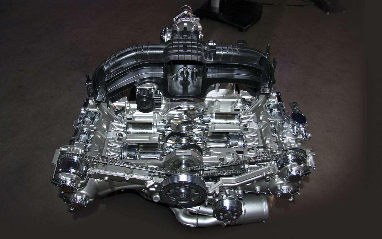 Всесекреты стратегии Subaru: вариаторы, оппозитные моторы ирадары— фото 893425
