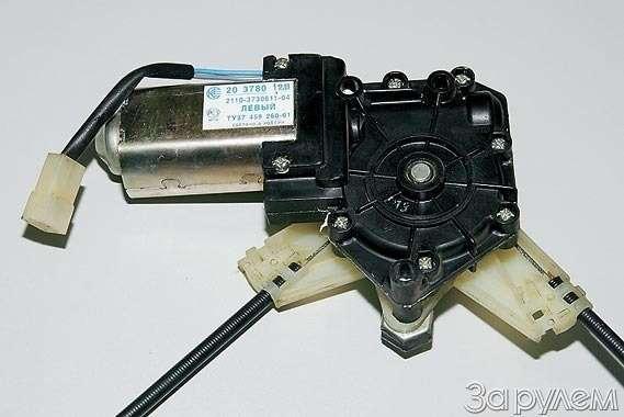 Ваз 2110 ремонт электростеклоподъемника