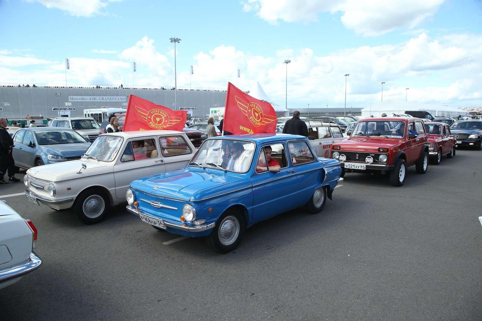 Болид ГАЗ-24«Зарулем» наMoscow Classiс Grand Prix— фото 608351