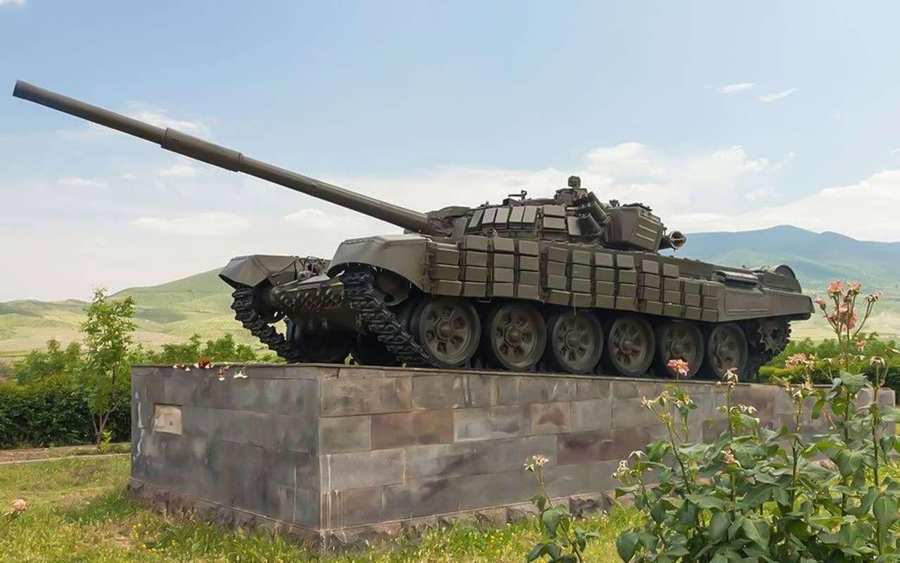 Донбасс, Чечня, Карабах...— боевой путь танка Т-72— фото 985580