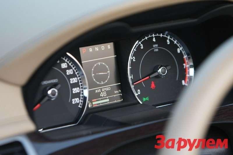 Салон Jaguar XK/R