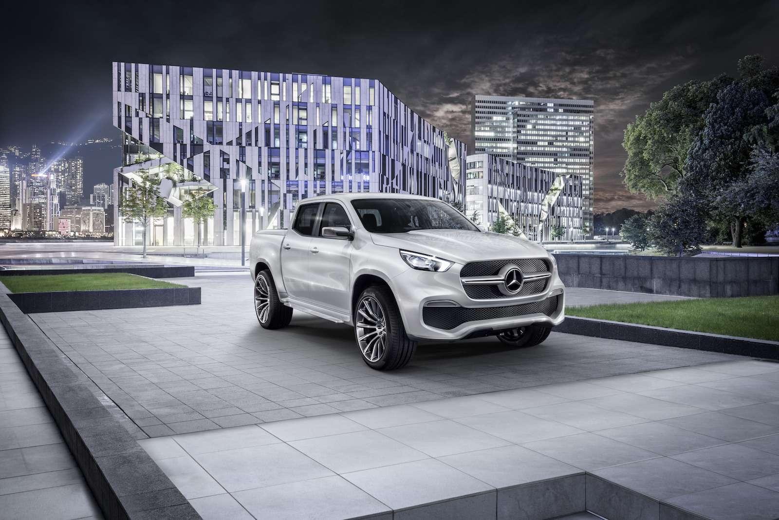Mercedes-Benz X-класса: издеревенщины вофранты— фото 672533
