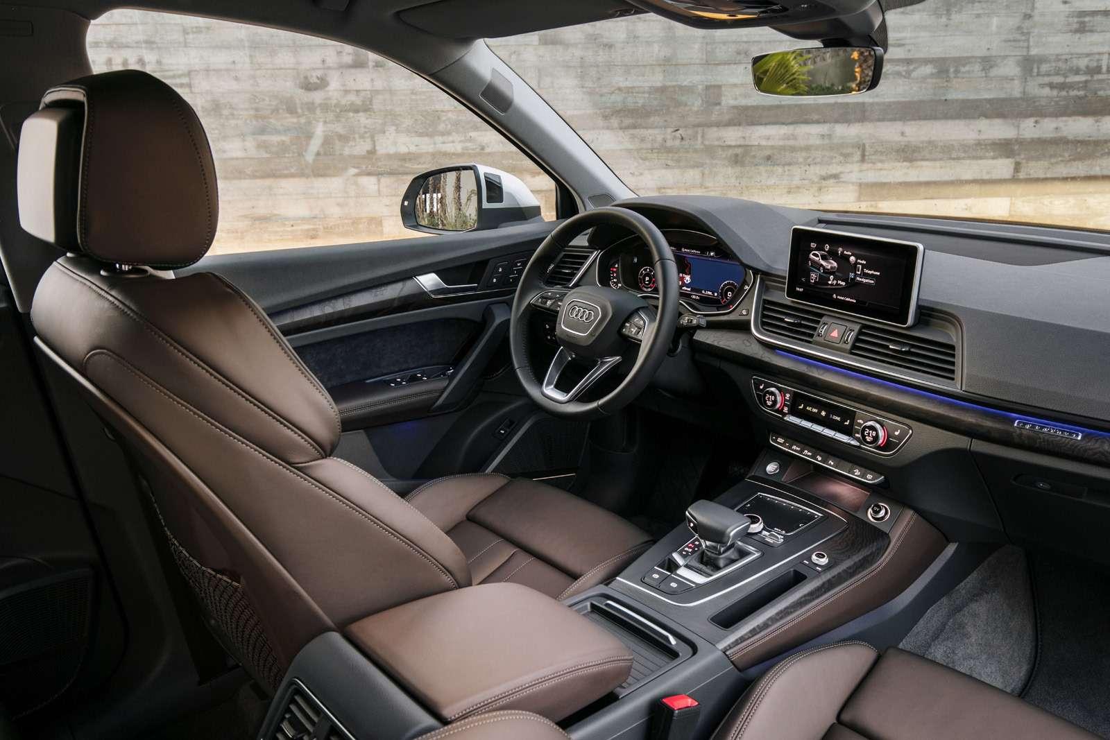 Объявлены рублевые цены нановый Audi Q5— фото 739850