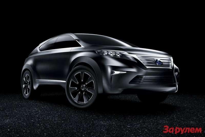 Lexus LF-Xh Concept side-front view
