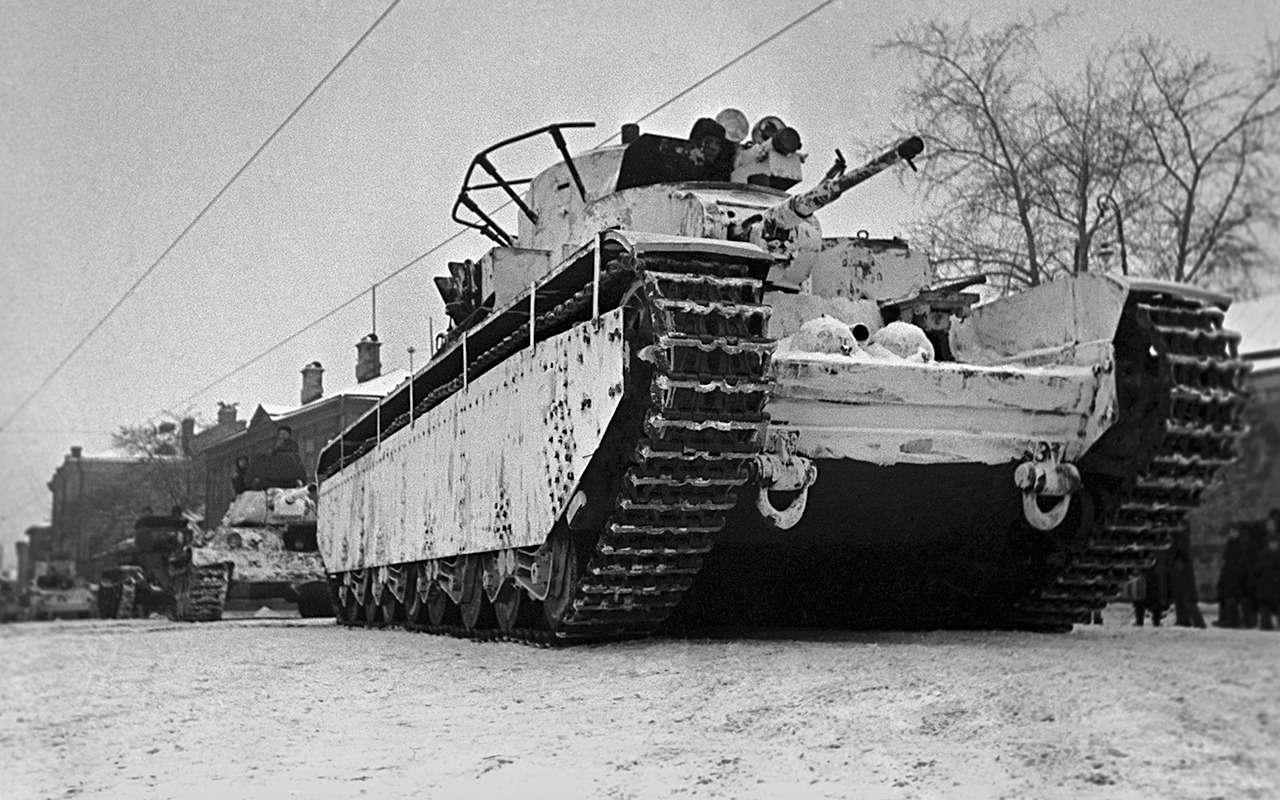 Неизвестный гигант Красной Армии: пятибашенный танк Т-35— фото 974071