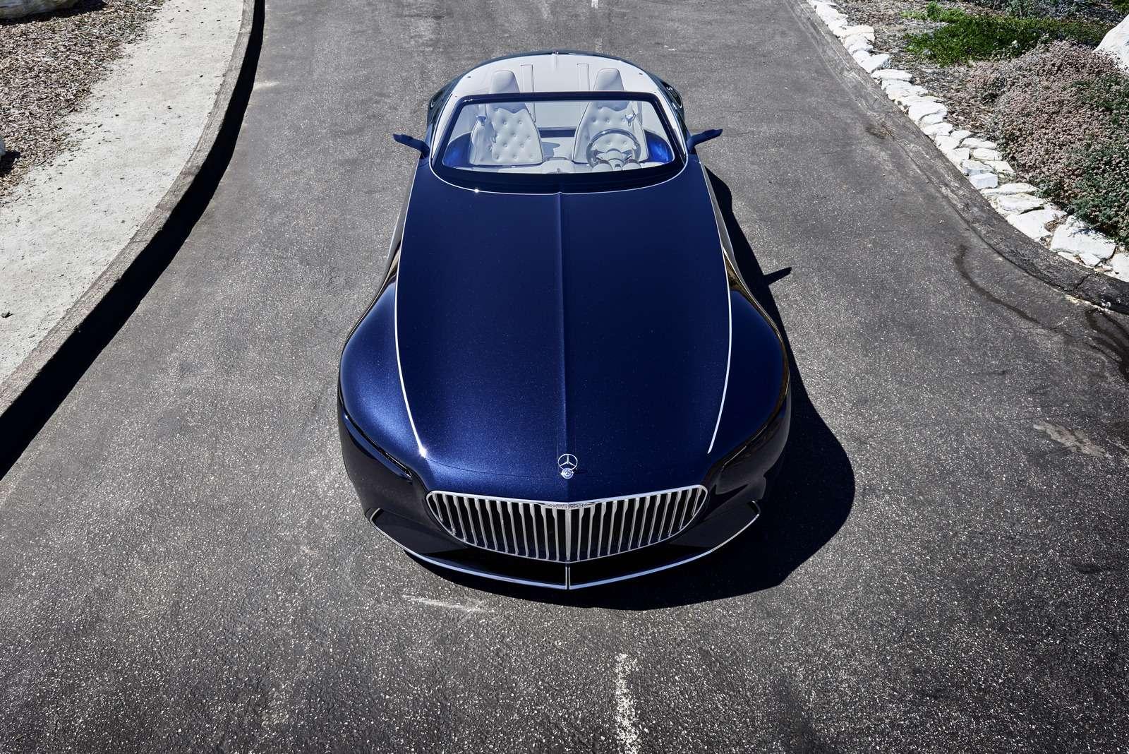 Пикник подкапотом: представлен кабриолет Mercedes-Maybach Vision 6— фото 786182