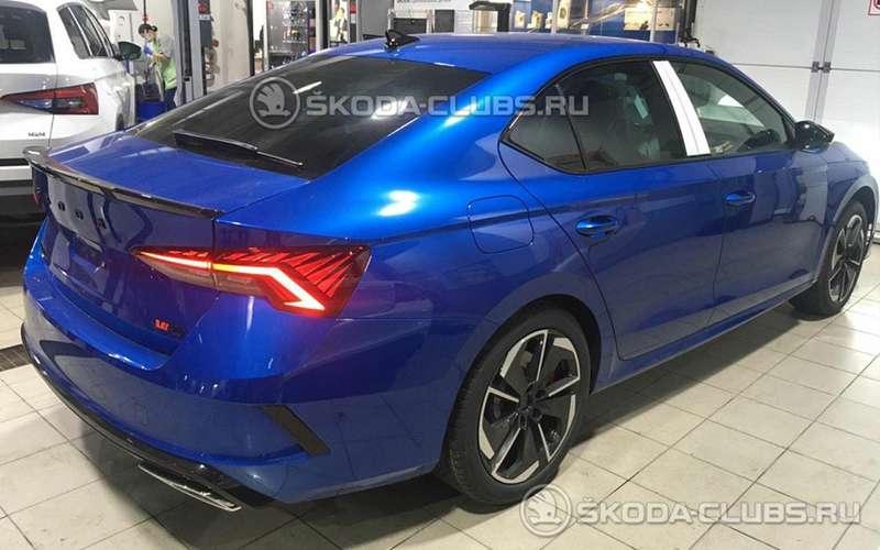 Доступный спорткар— Skoda Octavia vRS уже здесь!