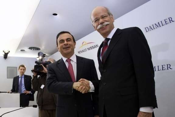 Dieter Zetsche and Carlos Ghosn