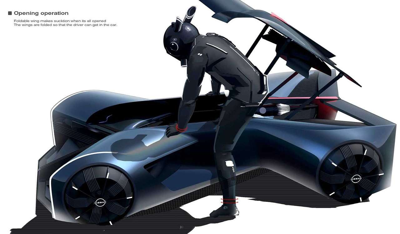 Концепт Nissan G-R водят лежа наживоте— фото 1209696