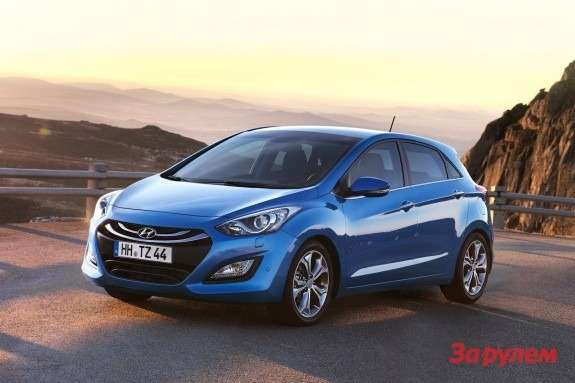 Hyundai i30 side-front view 2