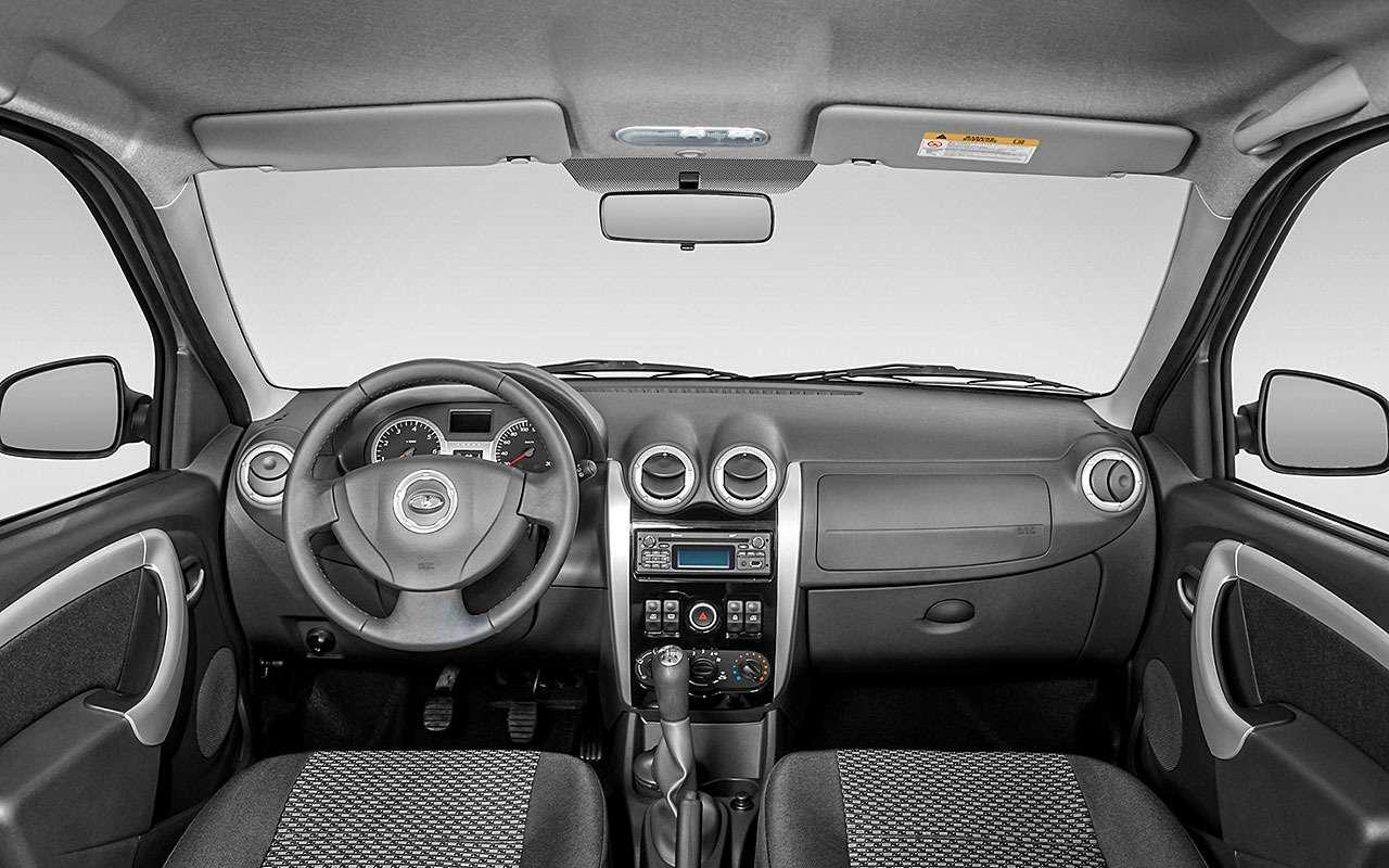 Базовая Lada Vesta SW или нафаршированный Largus - что выбрать? — фото 828169