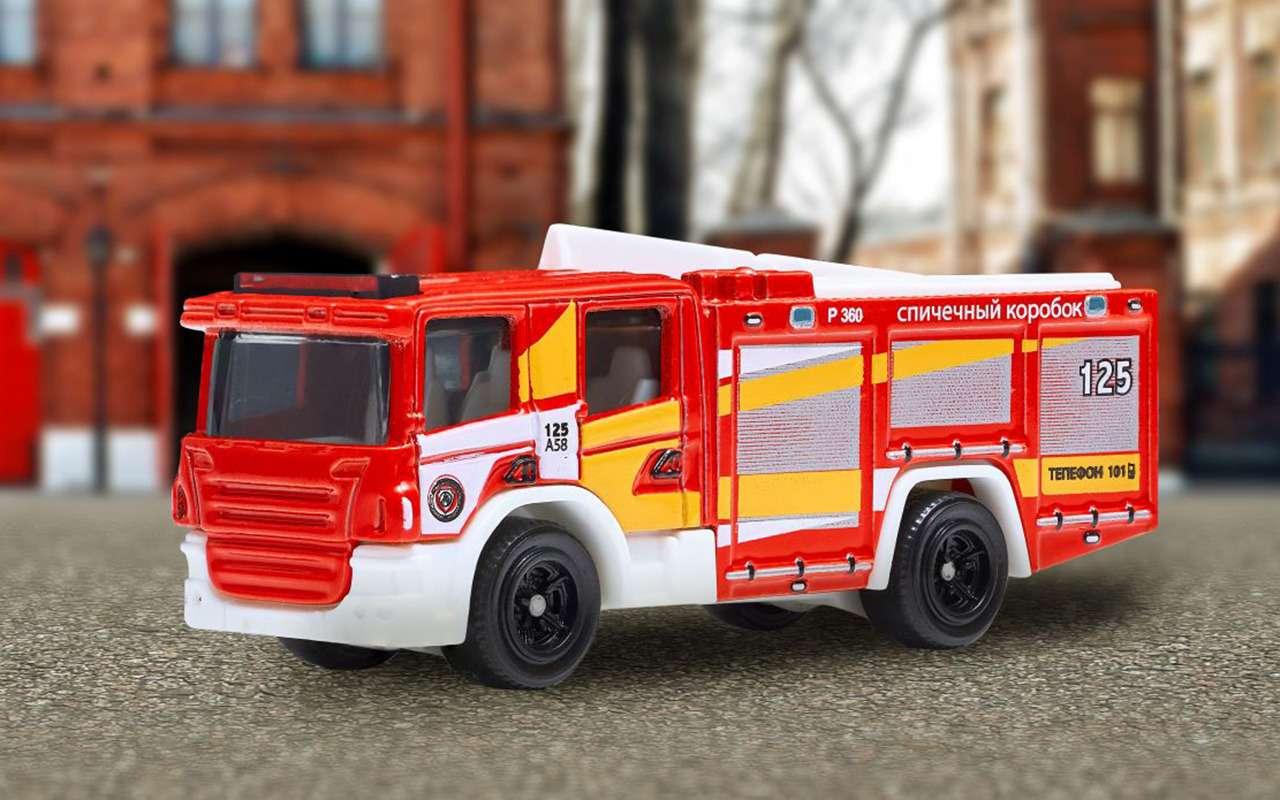 Вышла коллекция машинок аварийно-спасательных служб— фото 1253166