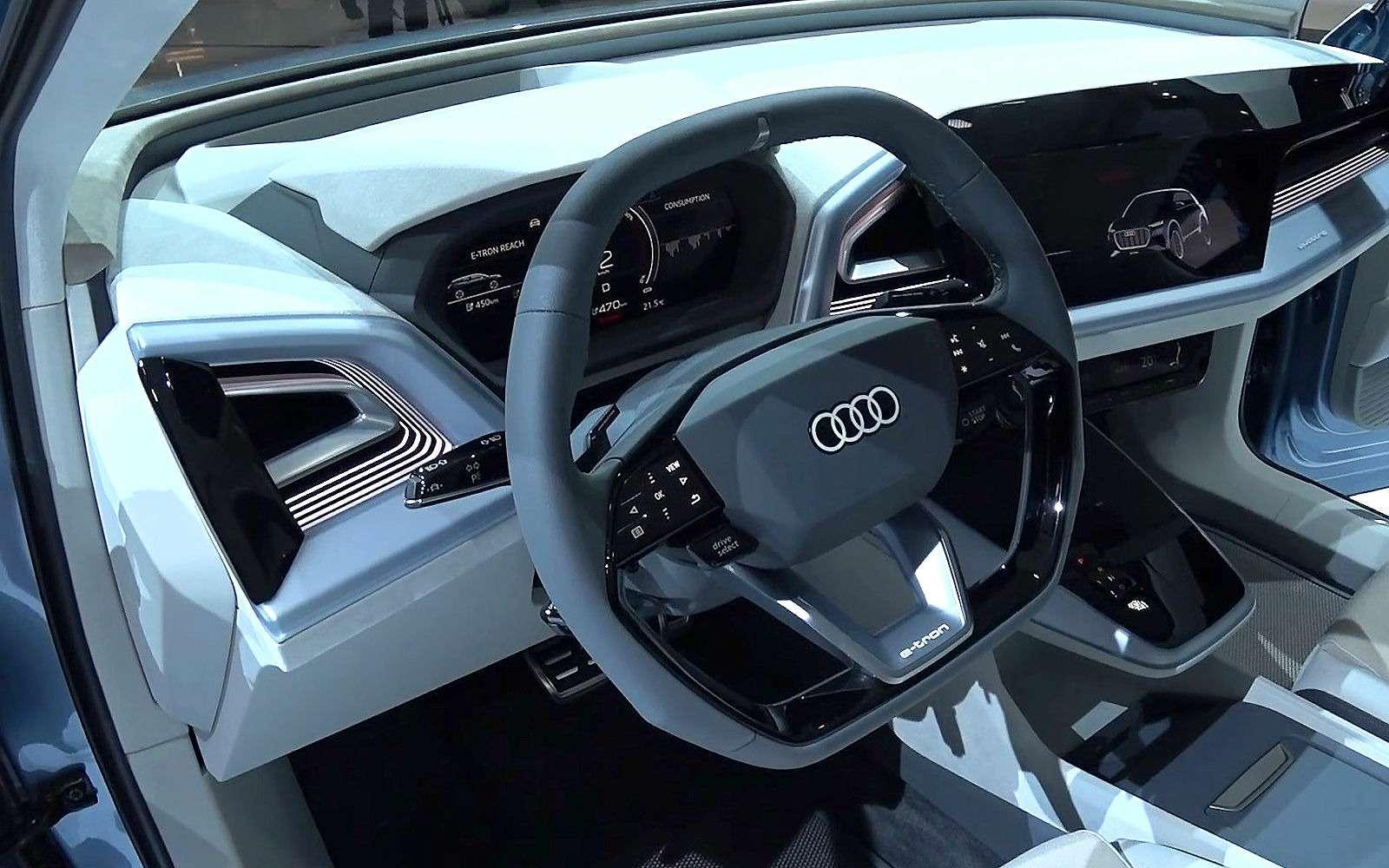 Новый Audi Q4— торжество сенсоров идизайна— фото 955756