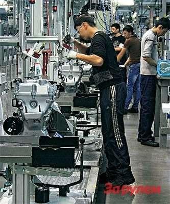 Ташкент поставляет моторы назаводы «Джи-Эм» вАсаке, Индонезии, Южной Корее. Некоторые комплектующие, возможно, будет покупать иАВТОВАЗ.