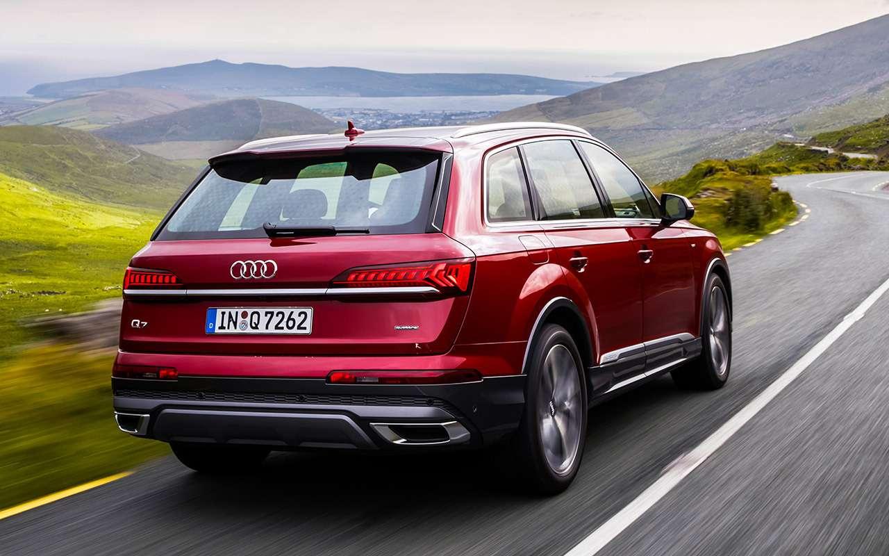 Обновленный Audi Q7: все (исерьезные!) изменения— фото 998254