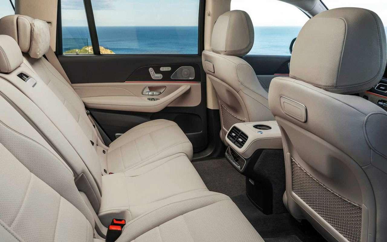 Новый Mercedes-Benz GLS: салон на7, двигатель на8— фото 967453