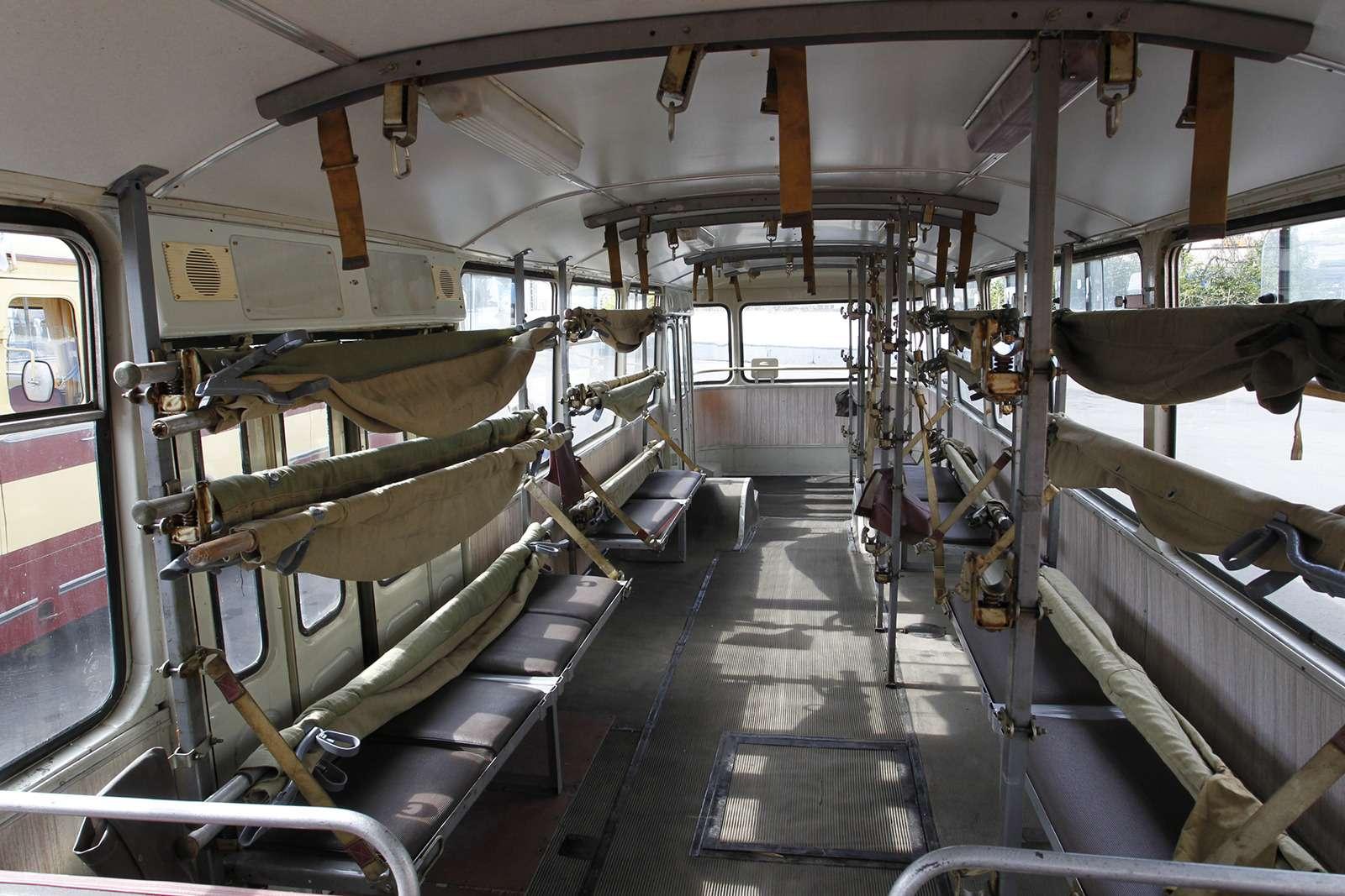 Автобусы нашего детства— выставка пассажирского транспорта— фото 792669