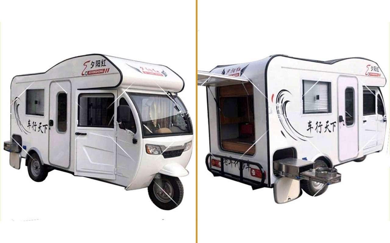 Автодом натрех колесах— китайский, маленький идешевый— фото 1113708