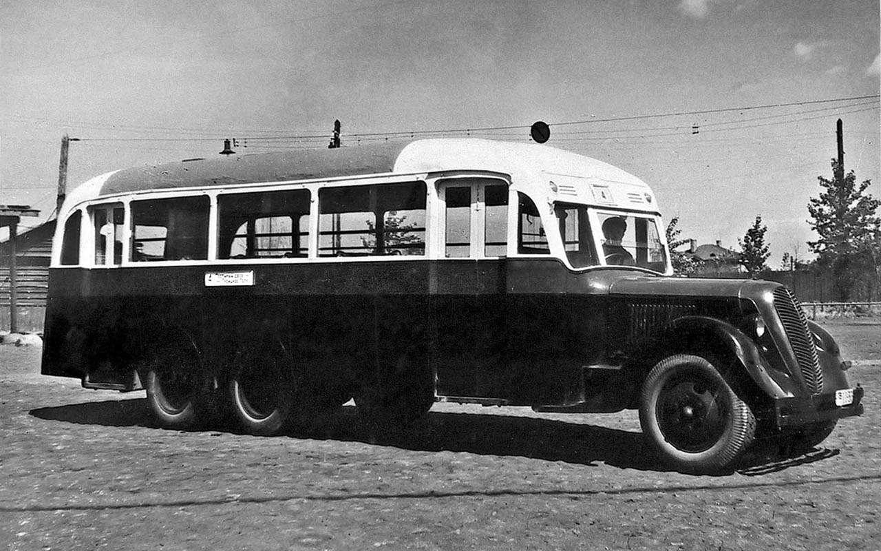 Автобусы изСССР— серийные иэкспериментальные— фото 1035345