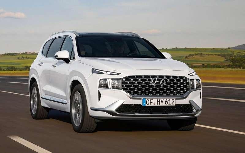 Обновленный Hyundai Santa Feпрошел сертификацию