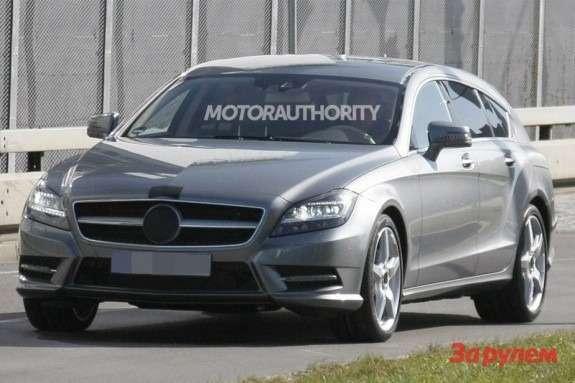 Mercedes-Benz CLS-klasse Shooting Break side-front view