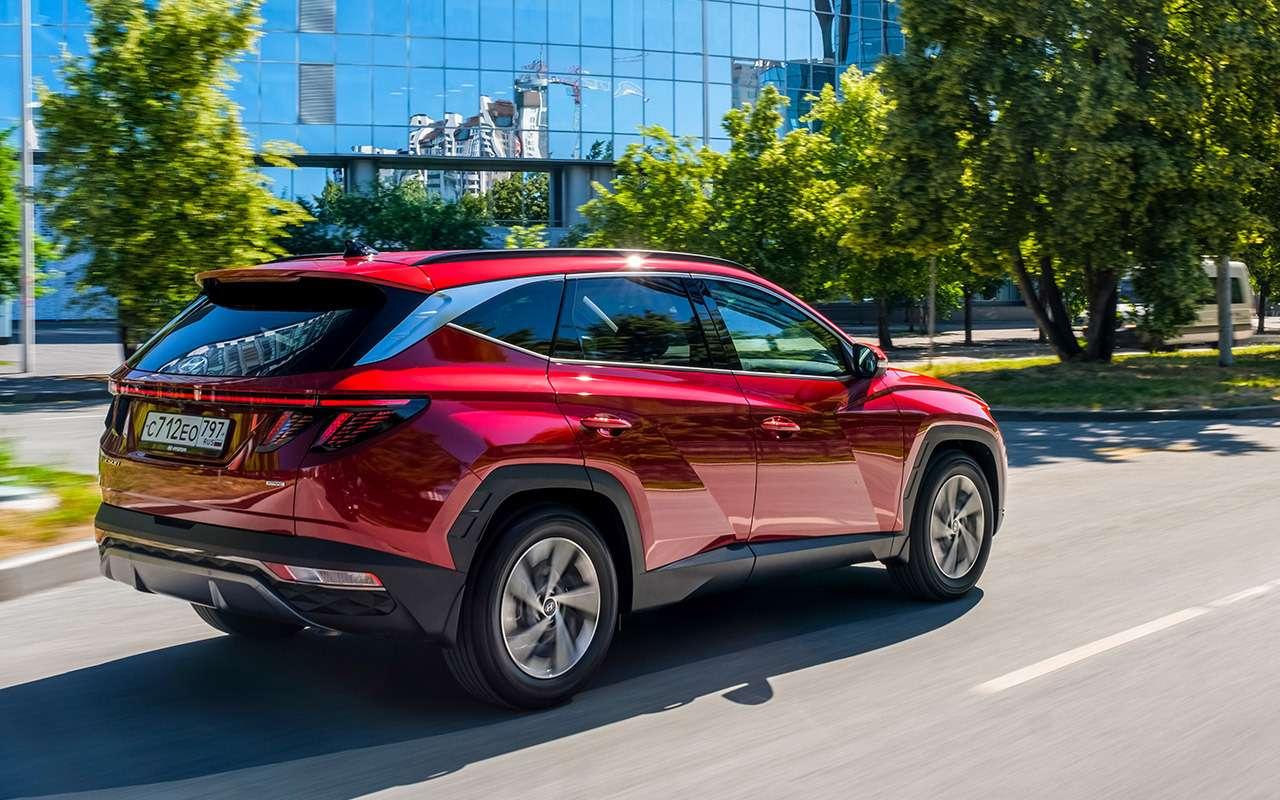 Новый Hyundai Tucson: выбрали оптимальную версию (из25!)— фото 1269643