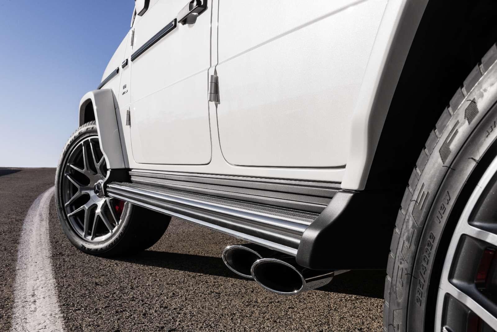 Мажорваген: представлен новый Mercedes-AMG G63— фото 844656