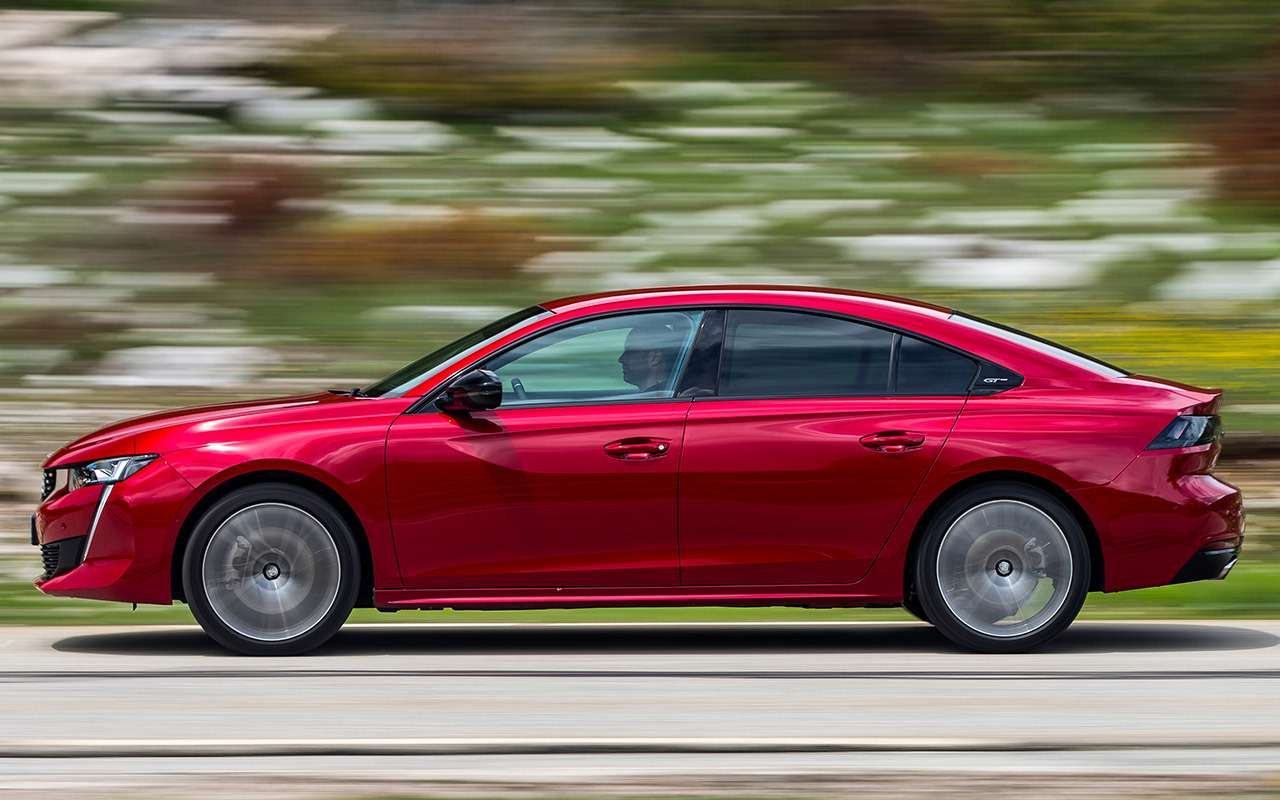 Peugeot 508: тест-драйв встиле «Такси»— фото 898060