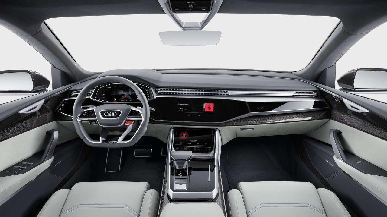 Угол зрения: концептуальный кроссовер Audi Q8поведал отоварной модели— фото 690566