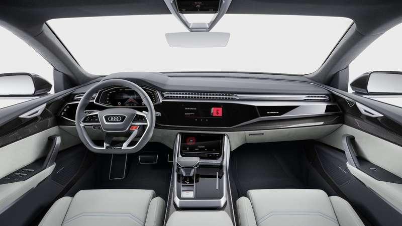Картинки по запросу Audi Q8 Sport внутри