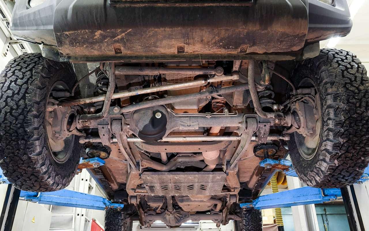 Тест-драйв легенд бездорожья: Lada 4x4, Suzuki Jimny, Jeep Wrangler— фото 1089429