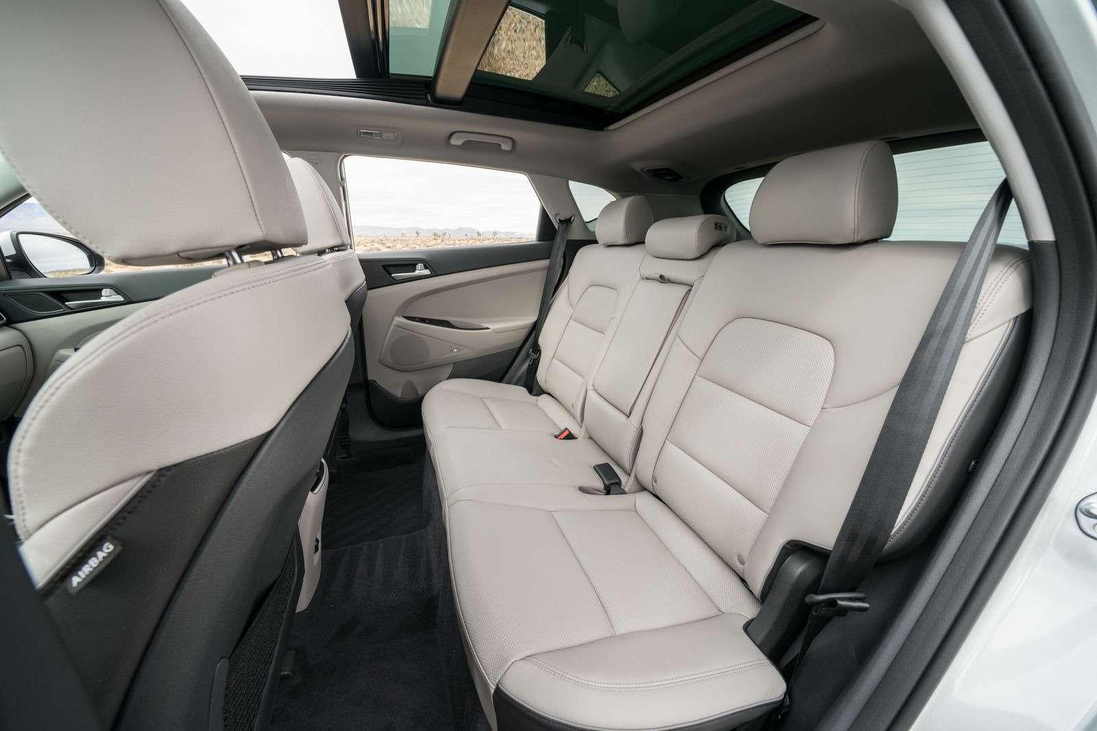 Hyundai Tucson пережил обновление. Итам сплошная «косметика»— фото 857927