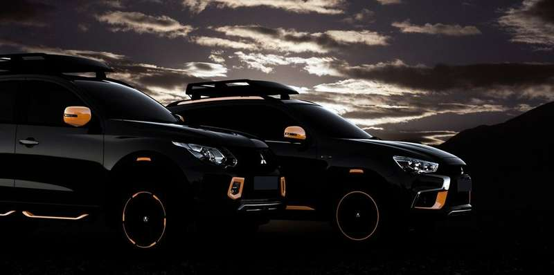 Mitsubishi-Triton-and-ASX-concepts-for-Geneva