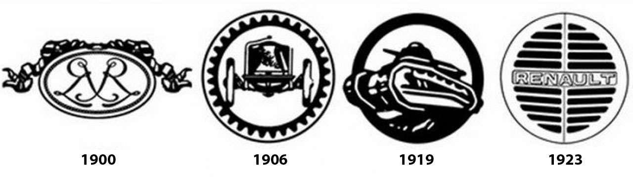Renault меняет логотип— 96лет истории ромба— фото 1232378