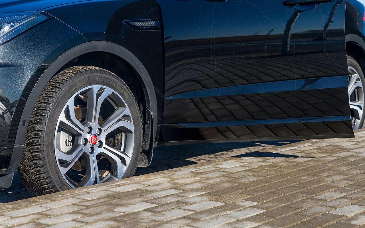 Volvo XC40, Lexus UX, Jaguar E‑Pace— тест-драйв вцифрах— фото 984043